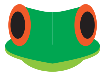 Frog Logo icon minimal vector illustration design logo design logo