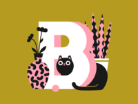 36 days of type - letter B