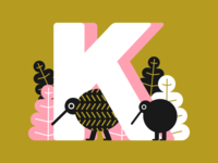 36 days of type - letter K
