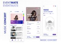 Eventmate Music Concert Concept