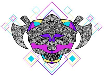 Ornament Skull Pirates Decorative - 6
