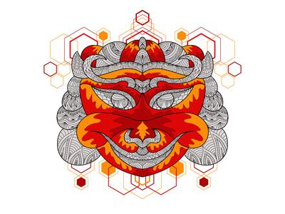 Ornament Ethnic Mask Decorative - 5
