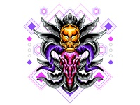 Bones Skull Decorative - 5
