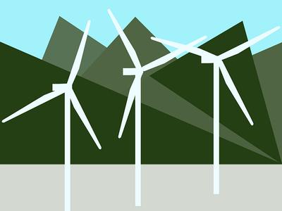 Wind Farm windmill palm springs wind farm