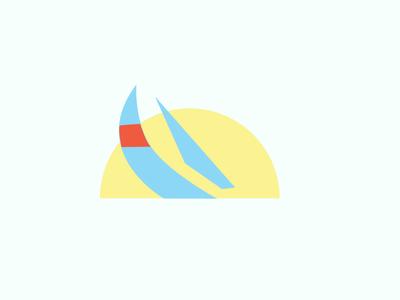 Sails + Sun shapes sun sail sailboat
