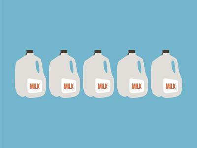Milk Gallon essentials simple gallon milk
