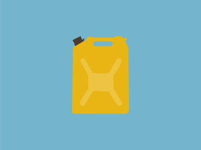 Jerry! 5 gallons 40 pounds water can water jerry can