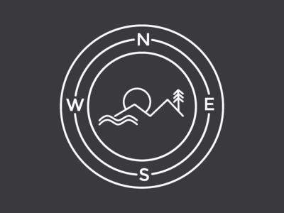 The Unconvantional Life Badge badge van life directions outdoors