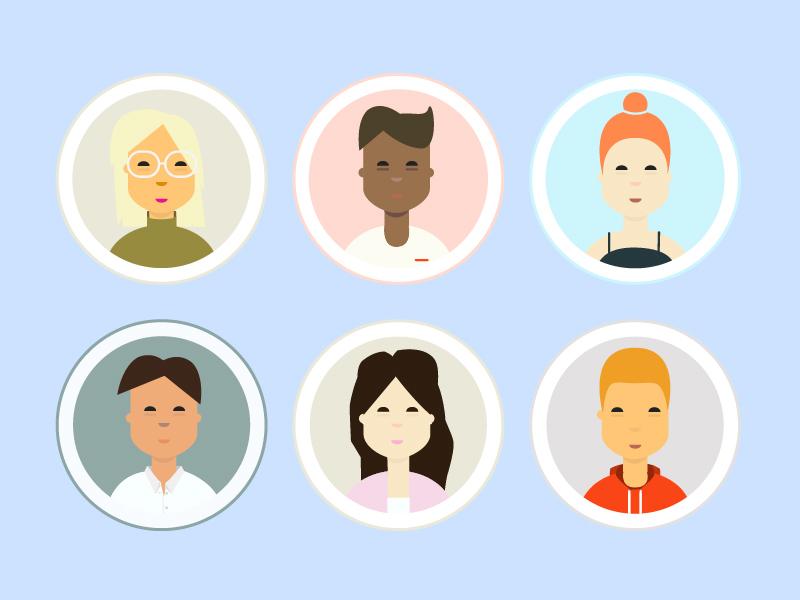Millennial Characters character millennial people millennials