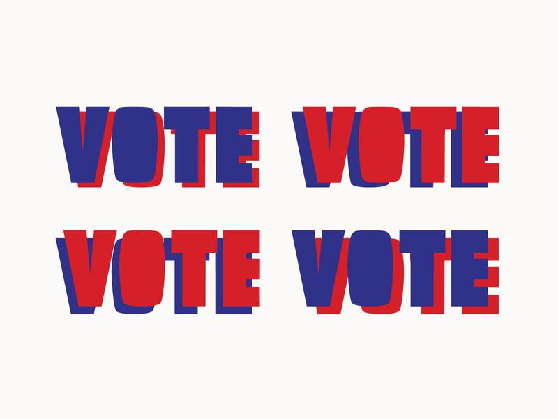 VOTE! blockletter vote