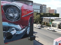 '57 Chevy mural