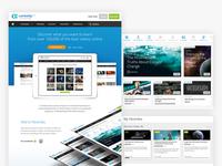Curiosity Website Design