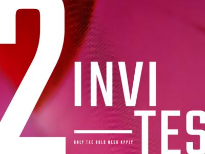 2 Dribbble invites invite giveaway invite