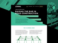 Dowel Bar Construction Website Design