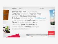Branding and Design Agency Website 2008