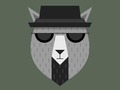 Heisenbear hat glasses breaking bad bear
