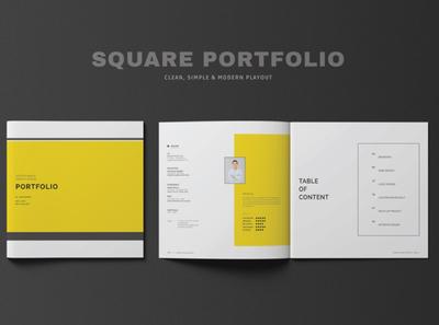 Square Graphic Design Portfolio