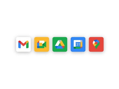 Google Icon Solution Idea fun exploration experiment update solution color logo icons suite google
