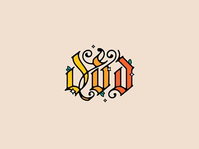 D&D&D branding ui design identity wordmark handlettering logo illustration lettering typography