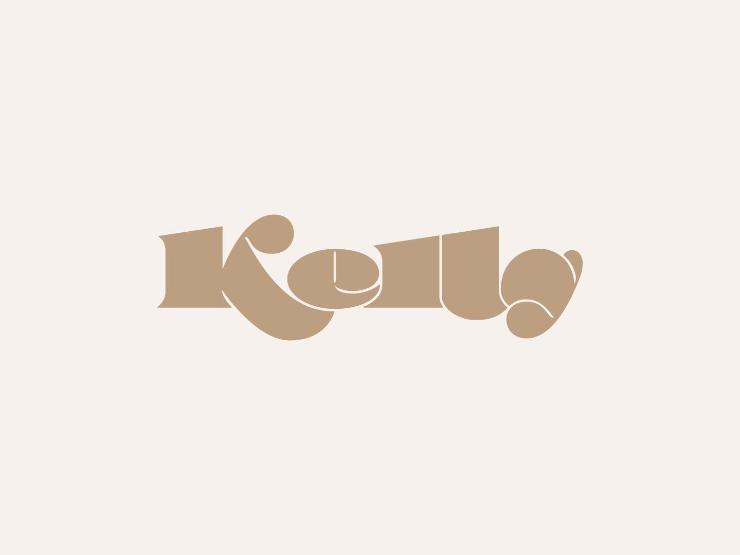 Kelly type branding identity wordmark illustration handlettering lettering typography logo