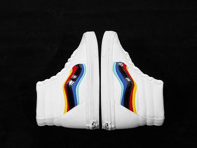 Jazz Aberration 01 chromatic vans design fashion shoe