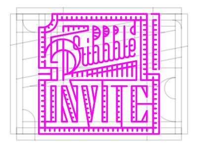 Come ball! design wordmark type illustration logo one typography invite dribbble