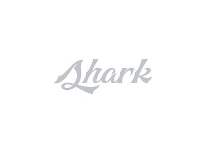 Shark Type aquatic sharp serif metaphor environment nature life sea creature ocean type design wordmark branding logo identity handlettering illustration lettering typography
