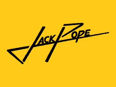 Jack Pope customtypography personallogo etsy portfolio behance freelancer uniquefont handdrawntypography businesslogo customlogo logodesign logo typematters goodtype logotype brandidentity signature