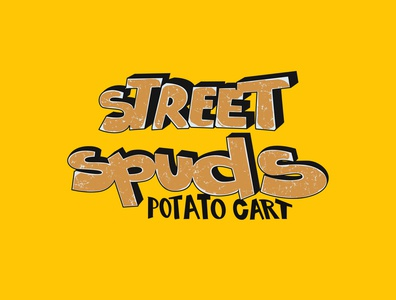 Street Spuds thedesigntip behance typematters goodtype customtypography lettering artist potato streetart graffitti graffiti art lettering logo custom lettering custom vector handlettering portfolio creative hand drawn lettering typography
