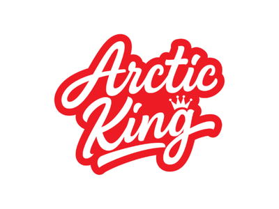 Arctic King custom lettering custom brand identity logo branding logos lettering artist apparel logo king calligraphy goodtype typematters logotype tshirt clothing typography lettering