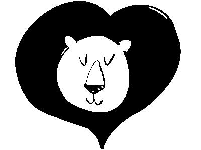 The Loving Lion sketch retro