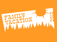 Family Vacation Shirt Design