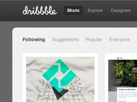 Dribbble Dark Background Userstyle