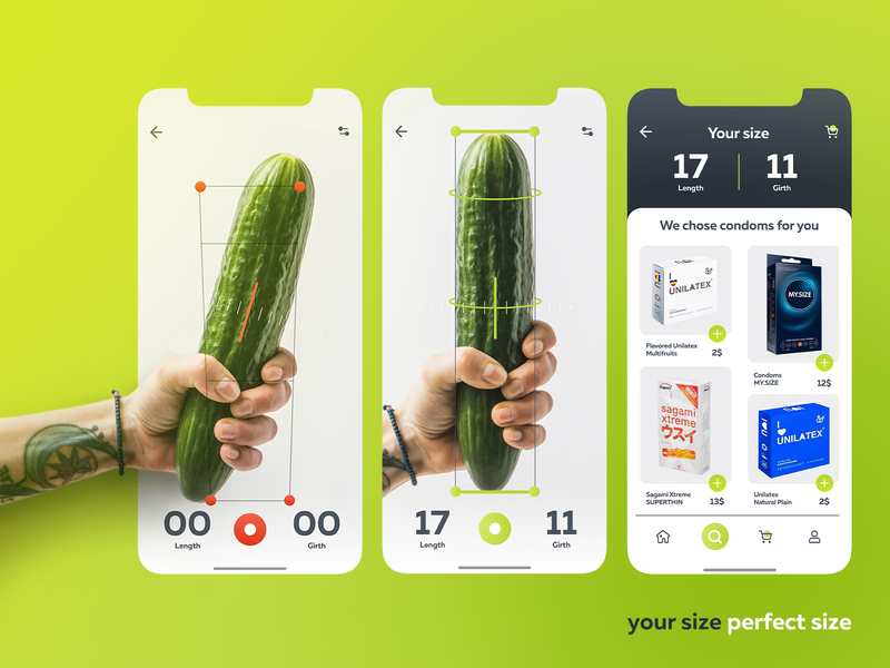 Perfect size | condoms selection app