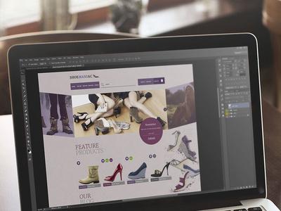 Working on new e-commerce website