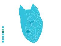 Low polygon dog illustration (For Fun)