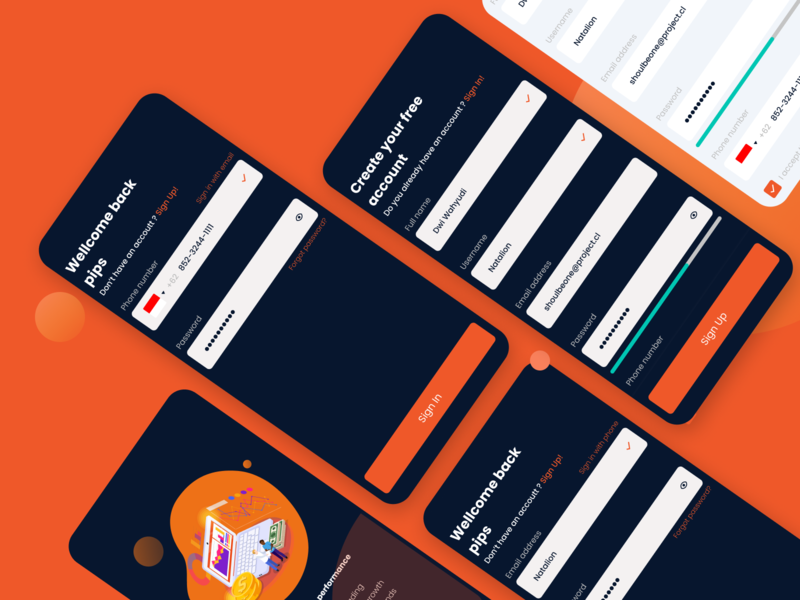 Crypto Wallet App - Welcome Screen dailyui002 uipractice uidesignchallenge uidesign uichallenge dailyuichallenge dailyui 10ddc 100daychallenge