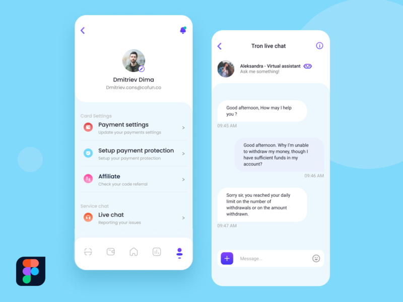 Day 05 - Chat service screen dailyui005 ui uipractice uidesignchallenge uidesign uichallenge dailyuichallenge dailyui 10ddc 100daychallenge