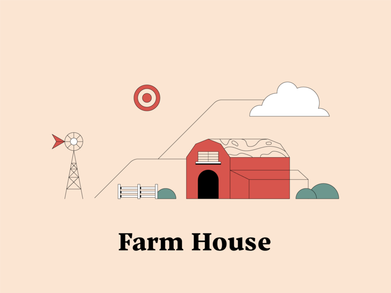 F is for Farm House