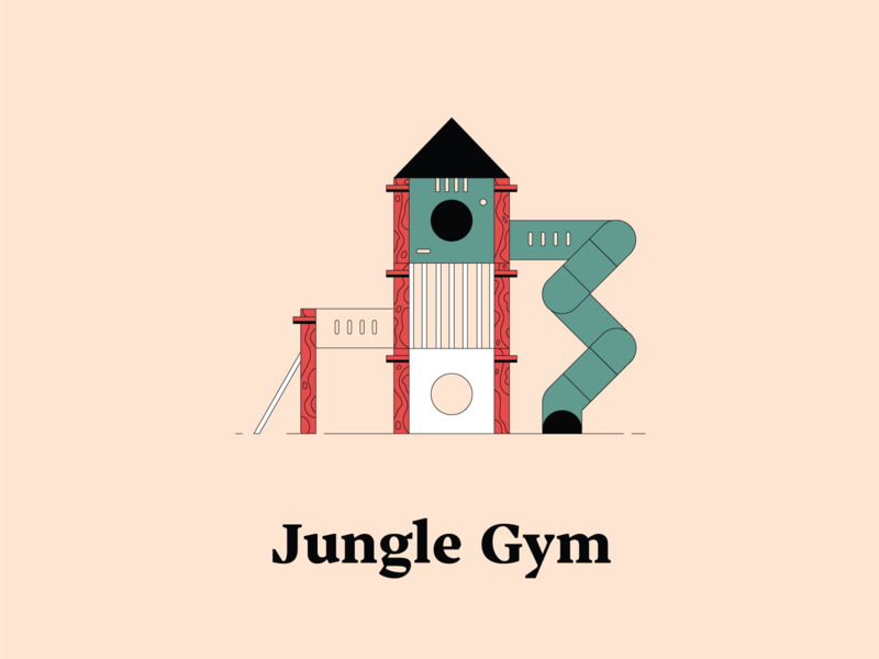 J is for Jungle Gym