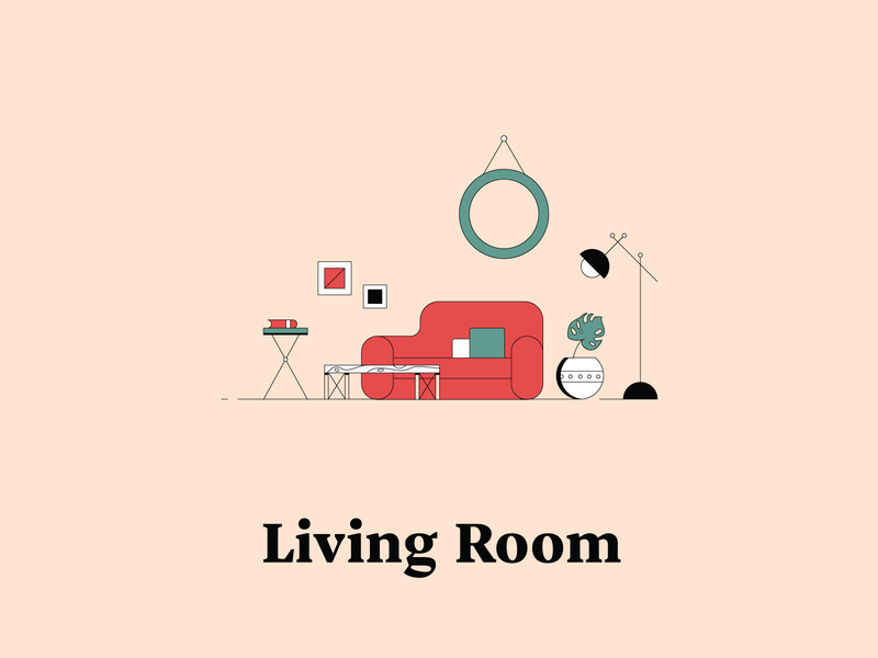 L is for Living Room