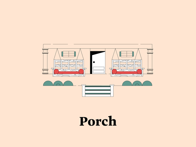 P is for Porch