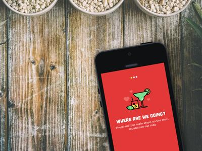 Annual Valentine's Margarita + Taco Tour App