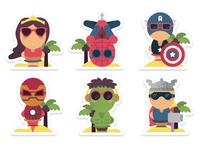Superheroes In Cali