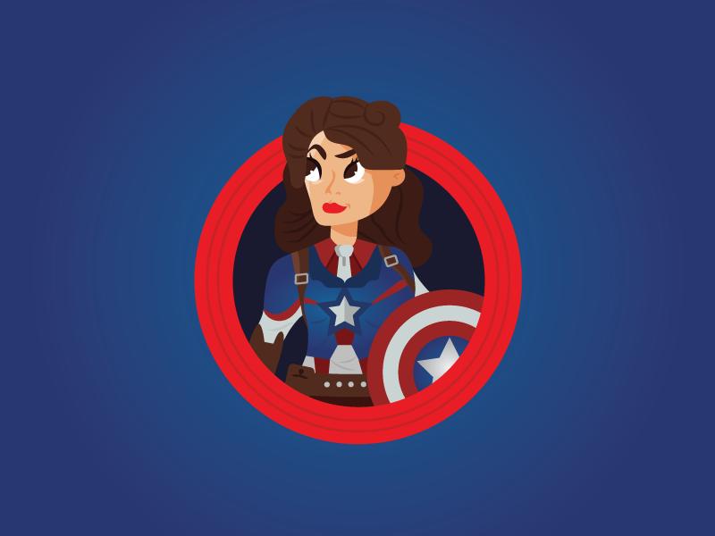 Captain Carter comicon marvel superhero peggy captaincarter