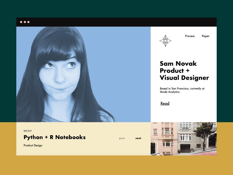 Portfolio Prep blog layout website portfolio