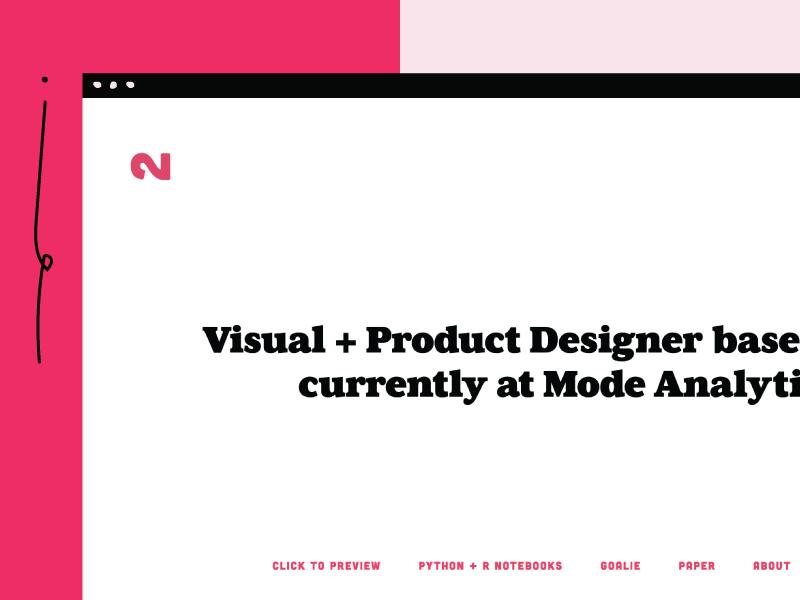 Portfolio Refresh! 💅🏼 identity logo brand portfolio