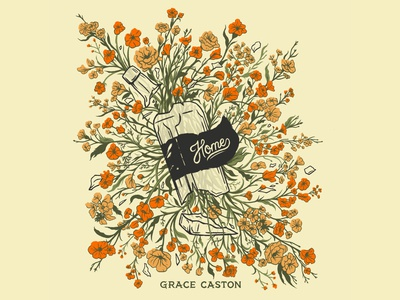 Grace Caston - Home EP Artwork