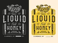 Tom's Liquid Gold Honey Branding & Packaging Design