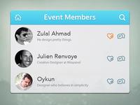 Event Members